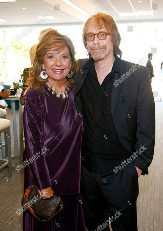 Dawn Wells, left, and Bill Mumy attend the Television Academy's 70th Anniversary Gala and Opening Celebration for its new Saban Media Center, in the NoHo Arts District in Los Angeles