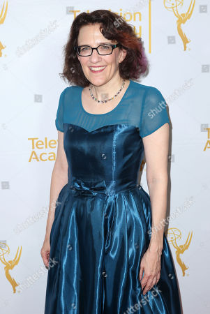 """Jane Espenson arrives at the Television Academy's premiere screening of the documentary """"Showrunners: The Art Of Running A Show"""" at the Leonard H. Goldenson Theater on in the NoHo Arts District in Los Angeles"""