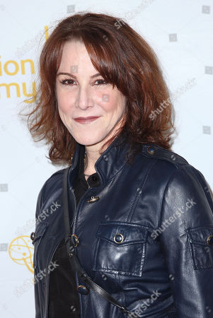 """Stock Picture of Janet Tamaro arrives at the Television Academy's premiere screening of the documentary """"Showrunners: The Art Of Running A Show"""" at the Leonard H. Goldenson Theater on in the NoHo Arts District in Los Angeles"""
