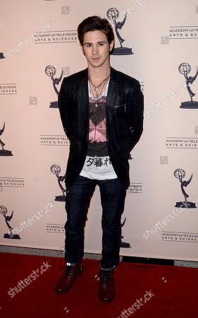 """MARCH 4: Connor Paolo arrives at the Academy of Television Arts & Sciences Presents An Evening With """"Revenge"""" at the Leonard H. Goldenson Theater at the Academy of Television Arts & Sciences on in North Hollywood, California"""