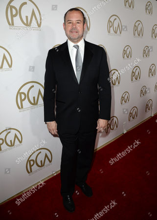 Marc Shmuger arrives at the 25th annual Producers Guild of America (PGA) Awards at the Beverly Hilton Hotel, in Beverly Hills, Calif