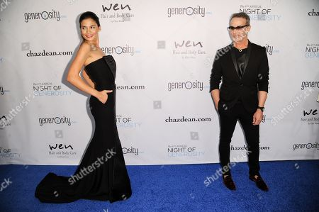 Rose Costa, left, and Lloyd Klein arrive at The 6th Annual Night Of Generosity Benefit, in Beverly Hills, Calif