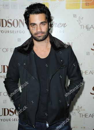 Stock Image of Michael Masini arrives at The Art of Elysium's 5th Annual Genesis at Siren Cube on in Los Angeles