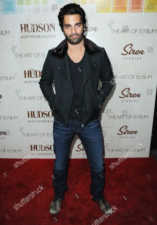 Stock Photo of Michael Masini arrives at The Art of Elysium's 5th Annual Genesis at Siren Cube on in Los Angeles