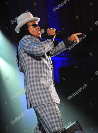 Melle Mel performs at The Art of Rap World Premiere at Hammersmith Apollo on in London