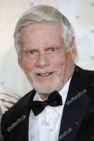 """Robert Morse arrives at The Black And Red Ball In Celebration Of The Final Seven Episodes Of """"Mad Men"""", in Los Angeles"""