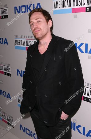 Stock Image of Rupert Parkes, known as Photek, arrives at The Electronic Dance Music Party at the American Music Awards, on in Los Angeles