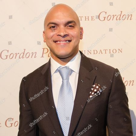Irvin Mayfield arrives at The Gordon Parks Foundation Awards Dinner and Auction at Cipriani's Wall Street, in New York