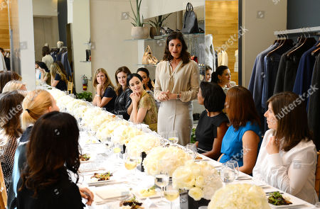 Maria Giulia Maramotti speaks at the Power of Style Lunch hosted by The Hollywood Reporter and MaxMara, in Beverly Hills, Calif