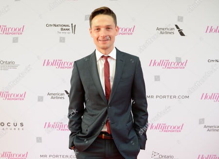 Gregory Smith arrives at The Hollywood Reporter celebration for the Breakthrough in Film Award honorees at TIFF at the Thompson Hotel, in Toronto