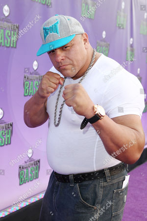 """Stock Picture of Mariano Mendoza arrives at """"Hub Network's First Annual Halloween Bash"""", at the Barker Hanger in Santa Monica, Calif. The star-studded special will be broadcasted on the Hub Network on Saturday Oct. 26, 2013"""