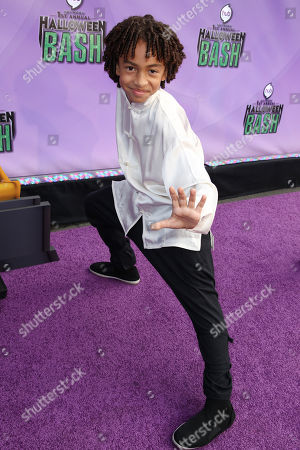 """Stock Image of Jaden Betts arrives at """"Hub Network's First Annual Halloween Bash"""", at the Barker Hanger in Santa Monica, Calif. The star-studded special will be broadcasted on the Hub Network on Saturday Oct. 26, 2013"""