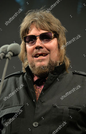 Jerry Dammers with his Inspiration Award at the 59th Ivor Novello Awards at the Grosvenor House in London on
