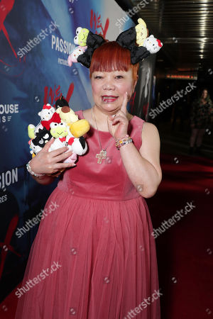 """Yuko Yamaguchi seen at The Los Angeles Premiere """"We Are X"""", in Los Angeles, CA"""