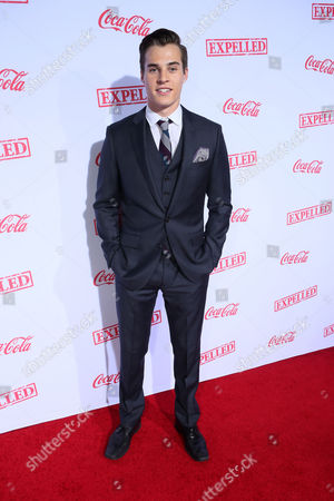 """Marcus Johns seen at The Los Angeles Premiere of AwesomenessTV's """"Expelled"""", in Los Angeles"""