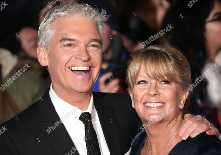 Philip Schofield at the National Television Awards, held at the O2 Arena, London, on
