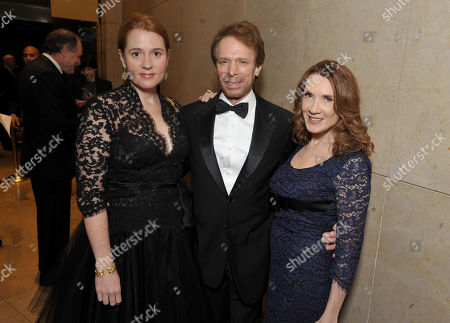 Stock Picture of From left, Alexandra Balahoutis, Jerry Bruckheimer and Linda Bruckheimer attend the presentation of the 27th Annual American Cinematheque Award to Jerry Bruckheimer, in Beverly Hills, Calif