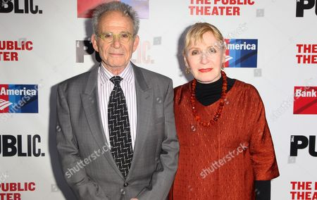Ron Rifkin and Iva Rifkin attend the The Public Theater's annual gala at The Delacorte Theater on in New York
