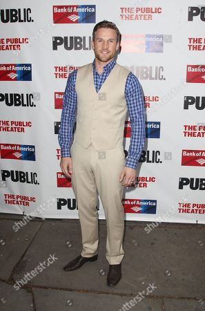 Claybourne Elder attends the The Public Theater's annual gala at The Delacorte Theater on in New York
