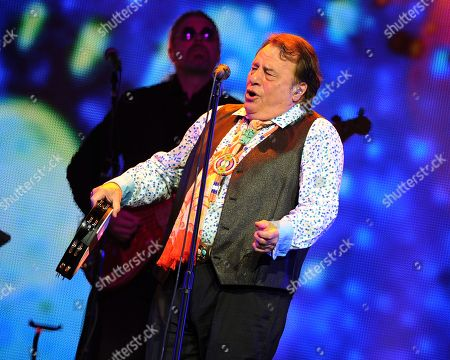 Eddie Brigati of The Rascals performs at Hard Rock Live! in the Seminole Hard Rock Hotel & Casino on in Hollywood, Florida