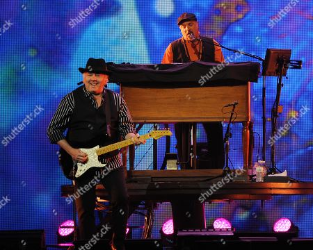 Felix Cavaliere and Gene Cornish of The Rascals perform at Hard Rock Live! in the Seminole Hard Rock Hotel & Casino on in Hollywood, Florida