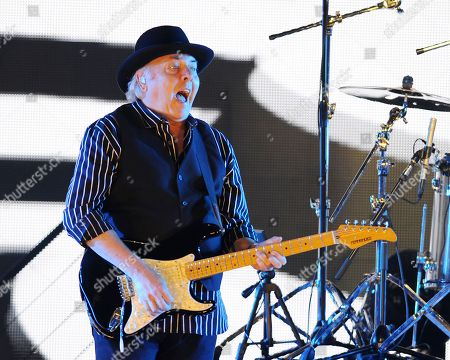 Gene Cornish of The Rascals performs at Hard Rock Live! in the Seminole Hard Rock Hotel & Casino on in Hollywood, Florida