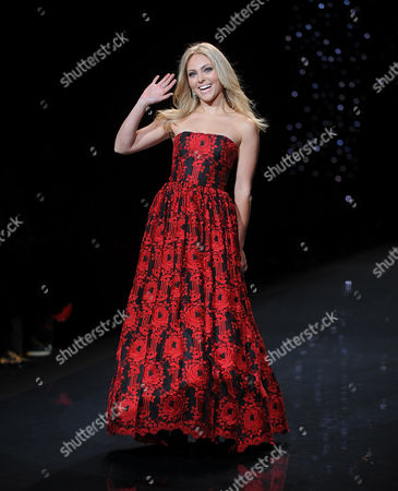 Editorial photo of The Red Dress Collection 2014 - Runway, New York, USA - 6 Feb 2014