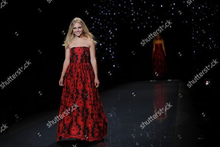 Editorial picture of The Red Dress Collection 2014 - Runway, New York, USA - 6 Feb 2014