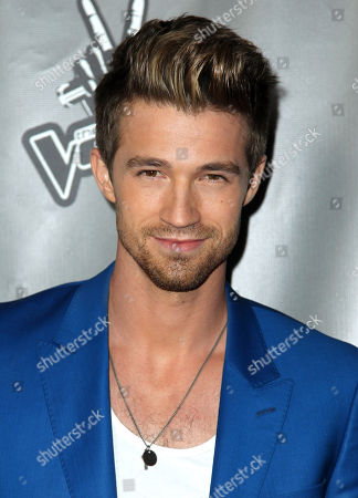 """Josiah Hawley arrive at """"The Voice"""" season 4 red carpet event at the House of Blues on in Los Angeles"""