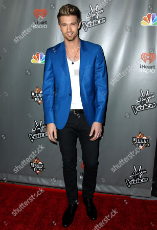"""Stock Photo of Josiah Hawley arrive at """"The Voice"""" season 4 red carpet event at the House of Blues on in Los Angeles"""