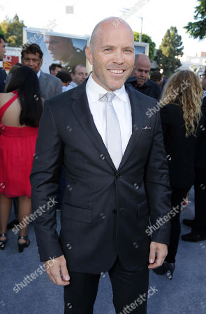 Stock Image of Josh Blacker seen at The World Premiere of TriStar Pictures 'Elysium', on Wednesday, August, 7, 2013 in Westwood, Calif