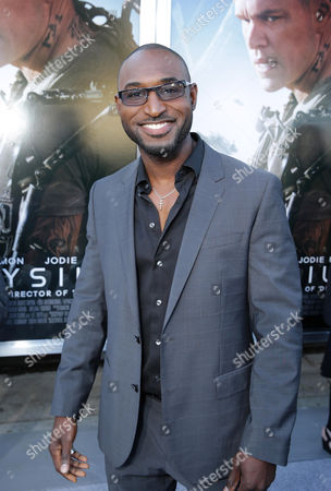 Adrian Holmes seen at The World Premiere of TriStar Pictures 'Elysium', on Wednesday, August, 7, 2013 in Westwood, Calif