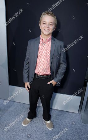Maxwell Perry Cotton seen at The World Premiere of TriStar Pictures 'Elysium', on Wednesday, August, 7, 2013 in Westwood, Calif