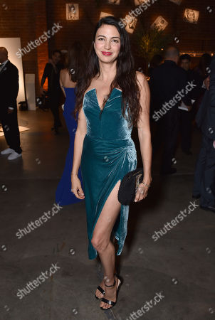 Shiva Rose attends the third annual Baby2Baby Gala honoring Kate Hudson at The Book Bindery, in Culver City, Calif