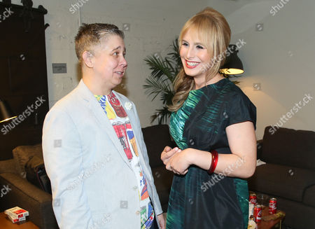 Ali Liebegott, left, and Zackary Drucker attend Transparent: Anatomy of an Episode at Ace Hotel, in Los Angeles
