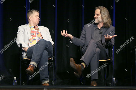 Ali Liebegott, left, and Jim Frohna attend Transparent: Anatomy of an Episode at Ace Hotel, in Los Angeles