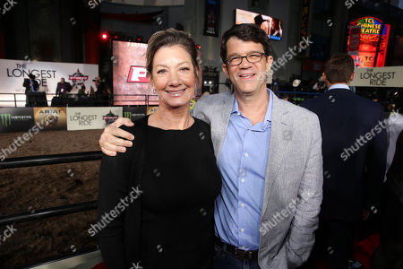"""Elizabeth Gabler, President of Fox 2000 and Producer Marty Bowen seen at the Twentieth Century Fox Premiere of """"The Longest Ride"""" held at TCL Chinese Theatre, in Hollywood"""