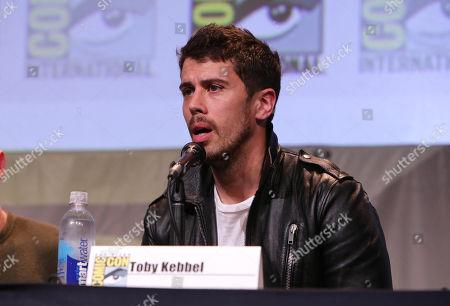 Toby Kebbel seen at the Twentieth Century Fox Presentation at 2015 Comic Con, in San Diego