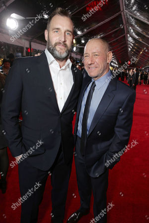 Producer Keith Redmon and Producer Steve Golin seen at Twentieth Century Fox World Premiere of 'The Revenant' at TCL Chinese Theatre, in Hollywood, CA