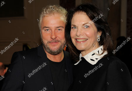 Actor William Petersen, left, poses with Sherry Lansing at UCLA's 2013 Visionary Ball at the Beverly Wilshire Hotel on in Beverly Hills, Calif
