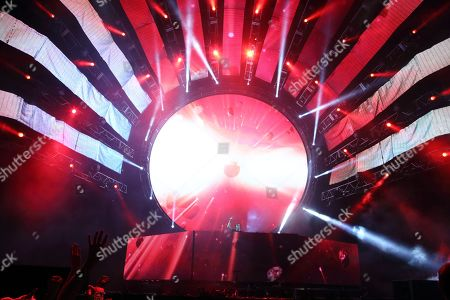 Robbert van de Corput aka Hardwell performs at the Ultra Music Festival at Bayfront Park, on in Miami, Florida