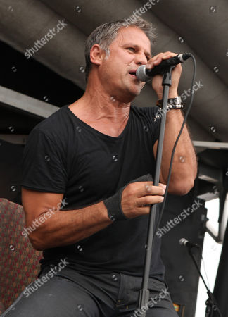 Jon Stevens of The Dead Daisies performs during the Rockstar Energy Drink Uproar Festival at the First Midwest Bank Amphitheatre, on in Tinley Park, IL