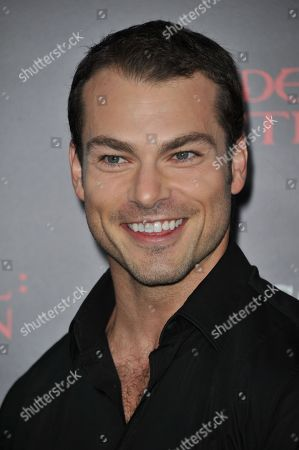 """Shawn Roberts attends the US premiere of """"Resident Evil: Retribution"""" at Regal Cinemas L.A. Live on in Los Angeles"""