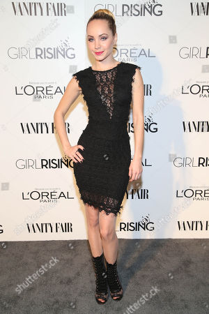 Ksenia Solo attends the Vanity Fair and L'oreal Paris DJ Night at 1Oak on in West Hollywood, Calif