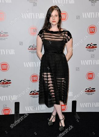 Sasha Spielberg arrives at Vanity Fair's Fiat Young Hollywood Party on Tuesday, Feb, 25, 2014 in Los Angeles