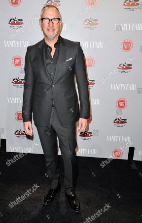 Edward Menicheschi arrives at Vanity Fair's Fiat Young Hollywood Party on Tuesday, Feb, 25, 2014 in Los Angeles