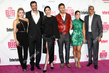 Stock Picture of Katherine Bailess, from left, James LaRosa, Jodi Lyn O'Keefe, Adam Senn, Valery Ortiz and Jonathan McDaniel attend the VH1 Big In 2015 with Entertainment Weekly Award Show held at the Pacific Design Center, in West Hollywood, Calif