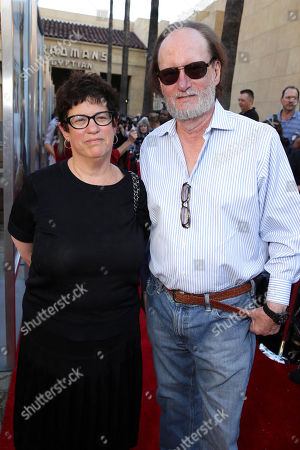 "Producer Karen Rosenfelt and Producer Ken Blancato seen at the Warner Bros. and Metro-Goldwyn-Mayer ""MAX"" Los Angeles Premiere on"
