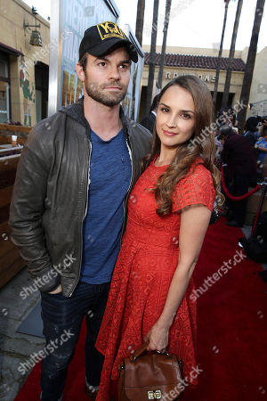 """Stock Picture of Daniel Gillies and Rachel Leigh Cook seen at the Warner Bros. and Metro-Goldwyn-Mayer """"MAX"""" Los Angeles Premiere on"""