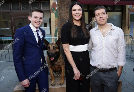 "Josh Wiggins, Jagger, Lauren Graham and Boaz Yakin seen at the Warner Bros. and Metro-Goldwyn-Mayer ""MAX"" Los Angeles Premiere on"